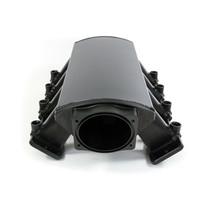 FABRICATED BLACK GM LS7 7.0L INTAKE MANIFOLD W/ FUEL RAILS & THROTTLE BODY