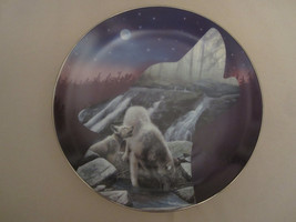 WOLF collector plate NIGHTFALL Kevin Daniel PROFILES OF THE PACK #3 - $28.98