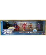 DC Justice League Collector 5-Pack Batman, Superman, Flash, Wonder Woman... - $16.99
