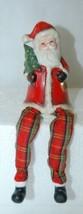Santa Shelf Sitter 007337 Christmas Theme 4 Inches Tree Bell image 2