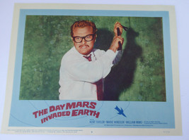 THE DAY MARS INVADED EARTH MOVIE POSTER LOBBY CARD 1962  11x14 ORIGINAL A2 - $5.99