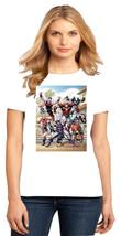 Hawkeye Tigra Mockingbird War Machine Wonder Man Ladies Crew T-Shirt Size XS-4XL - $19.99+