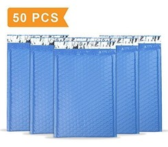 """Mailer Plus #0 Blue Poly Bubble Mailers 6x10"""" Self Seal Padded Envelopes... - $22.97"""
