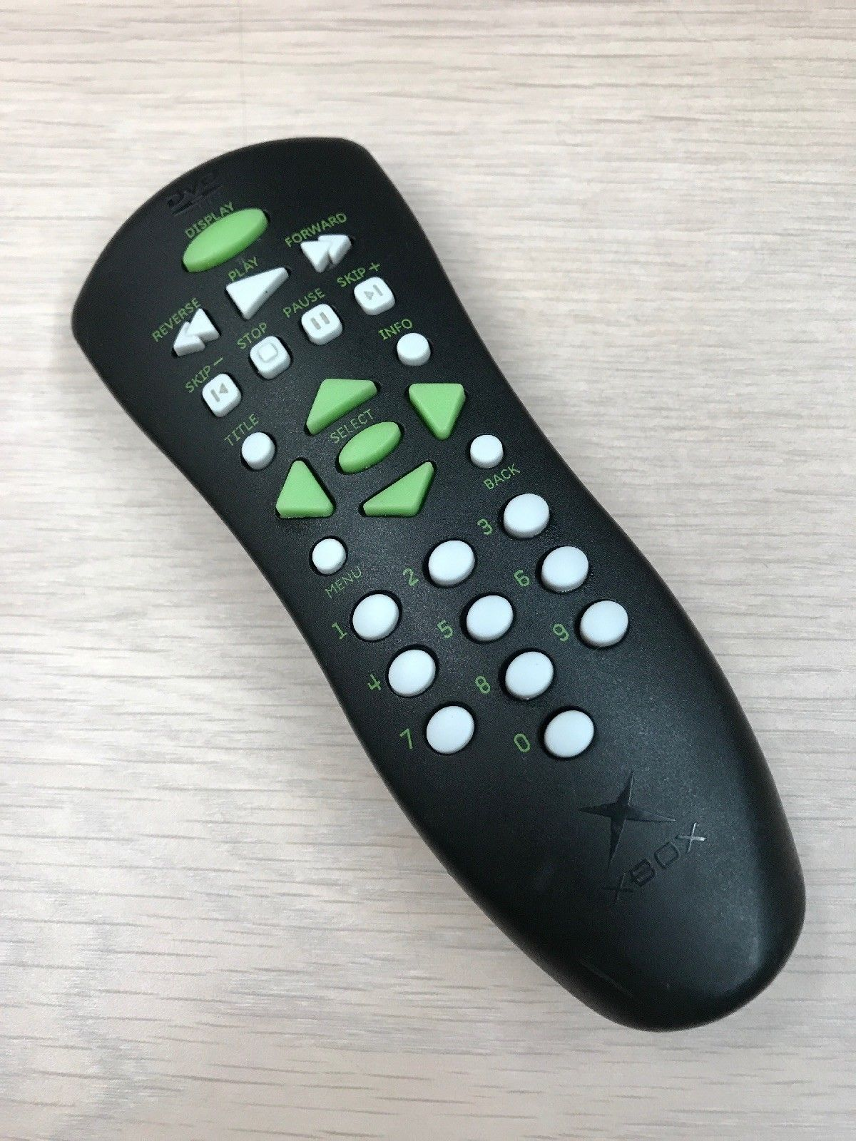 XBOX DVD Remote Control - Tested -                                          (V1)
