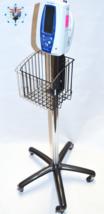 Welch Allyn Spot LXi VSM 300 Series Rolling Stand w/ Basket Ref 4200-60 ... - $118.70