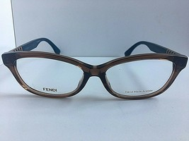 New FENDI FF 72/F4U 53mm Tortoise Women's Eyeglasses Frames Italy - $149.99