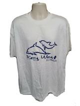 Key West Florida Adult White XL TShirt - £14.49 GBP