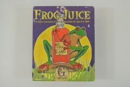 Frog Juice Card Game Spells & Concoctions Ages 8-Adult 1997 Gamewright C... - $29.02