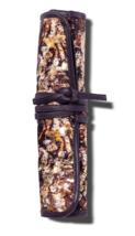 Sonia Kashuk Trousse Maquillage Cosmétique Brosse Rollup Détresse Floral Avec