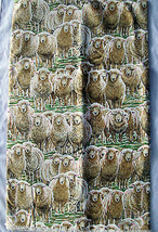 Lambs Andover Quilt Craft Fabric Hello Dolly Ladyfingers Studio Pattern ... - $18.74