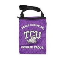 NCAA TCU Horned Frogs MESSENGER BAG WOMEN'S FASHION POUCH SMALL HANDBAG - $6.88
