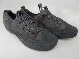 Propet Maren Size 7 M (B) EU 37 Women's Flat Sheep Leather Shoes Black W6047
