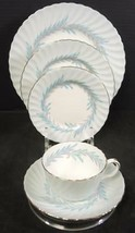 Minton Blue Symphony Five Piece Place Setting - $9.31