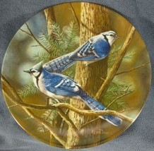 The Blue Jay Collector Plate 2nd Birds of Your Garden Kevin Daniel 1985 ... - $14.97