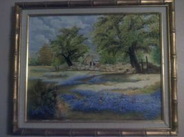 Vintage-1994-Framed-Oil-Canvas-Painting-From-The-Ozarks-20-X-16   - $88.80