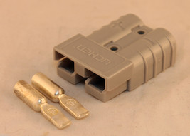 Golf cart parts EZGO Charger & Cart DC Anderson plugs with contacts 1984 -1995 - $5.69