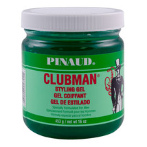 Clubman Pinaud Style Gel Jar, 16 oz