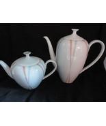 Mid-Century Porcelain Tea Pot & Coffee Pot Zeh Scherzer Germany Dinnerware - $24.99