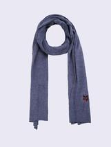 Diesel Unisex K-Feb 00S29Z Fine Knitting Scarf Blue - $80.19