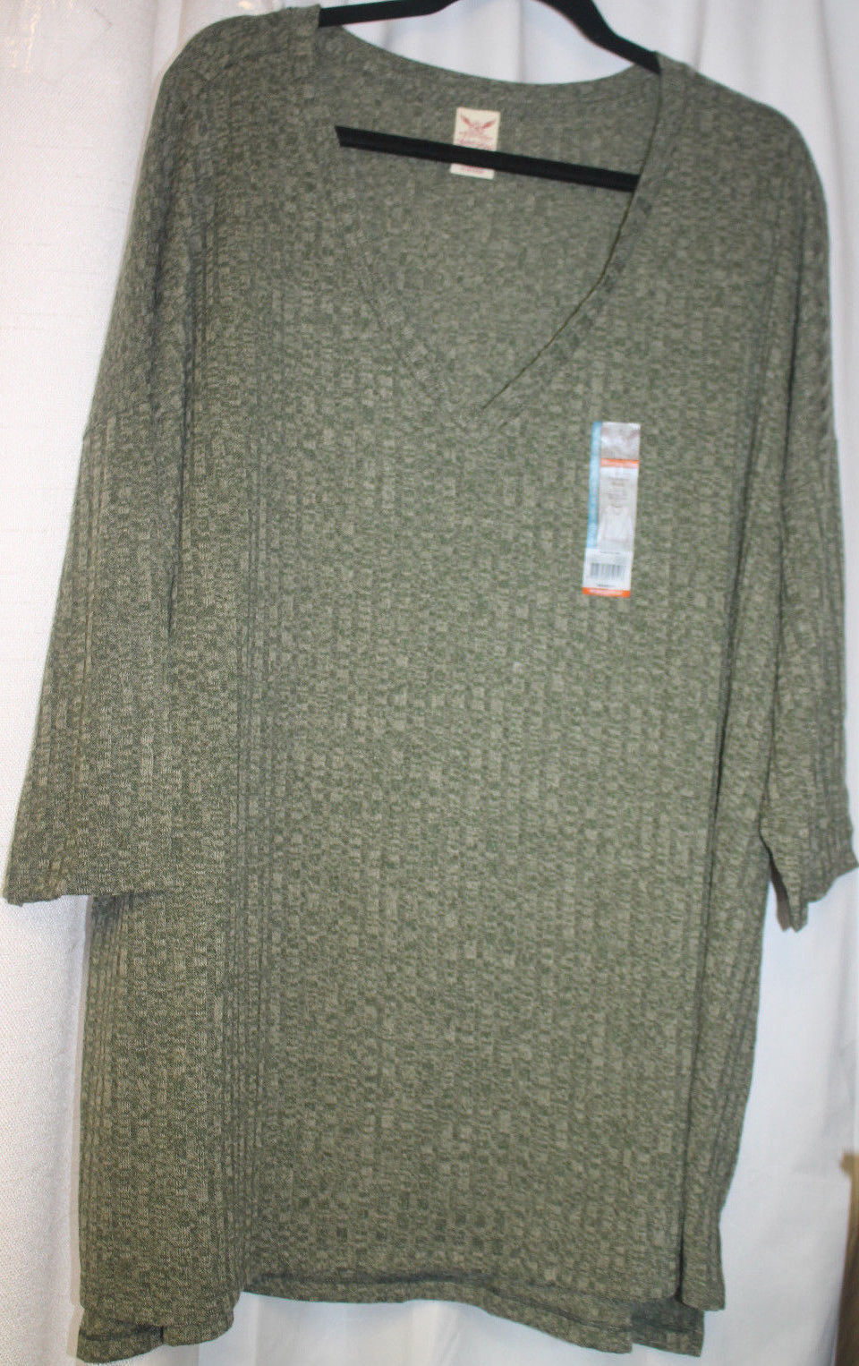 c1d0168413 New Womens Plus Size 4X 26W 28W Green Ribbed and 50 similar items
