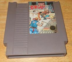 Renegade NES Game Nintendo 1988 Taito Very Good Condition fighting video... - $13.53
