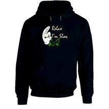 Relax I'm  Slow 420 Canna Hoodie image 7