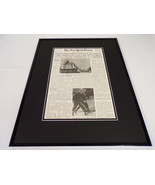 New York Times Apr 30 1975 Framed 16x20 Front Page Poster Vietnam War Ends - $74.44