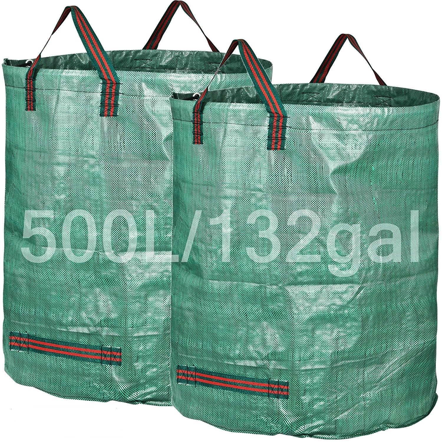 Garden Waste Reusable Bags Yard Clean Up Leaf Holder