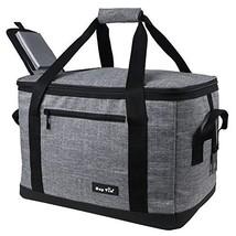 Hap Tim Soft Cooler Bag with Hard Liner 40-Can Large Reusable Grocery Ba... - $29.19