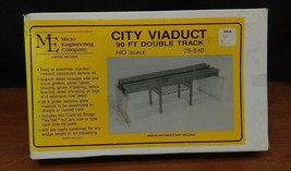 Micro Engineering Co. HO Scale City Viaduct 90' Double Track- 75-510 - $33.66