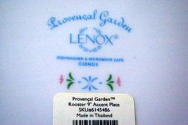 Lenox Provencal Garden Rooster Salad Plate image 4