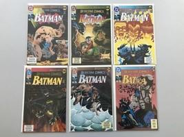Run Lot of 9 Detective Comics (1937 1st Series) #659-667 NM Near Mint - $26.73