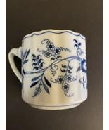 Blue Danube Blue Onion ~ Coffee Mug / Cup ~ Rectangular Mark  - $8.91