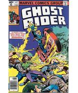 Ghost Rider Comic Book #47, Marvel Comics 1979 NEAR MINT - $10.69