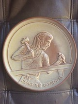 """1972 Frankoma Pottery """"TEEN-AGERS OF THE BIBLE"""" - Jesus the Carpenter, P... - $14.03"""