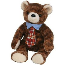 Pappa 2004 #1 Dad Fathers Day Ty Beanie Baby Retired MWMT with Plaid Tie - $7.87