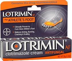 Lotrimin For Athlete's Foot Clotrimazole Cream Antifungal - 30g - $8.89