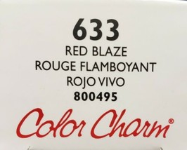 Wella Color Charm Conditioning Permanent Gel Tube Hair Color 2 Oz Red Blaze 633 - $7.69