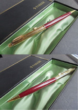 PARKER INSIGNIA Mechanical pencil pen lacque red color In gift box Original - $35.00