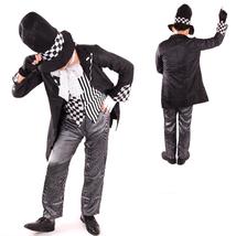 Alice in Wonderland II Dark Mad Hatter Halloween Fancy Costume - $52.15
