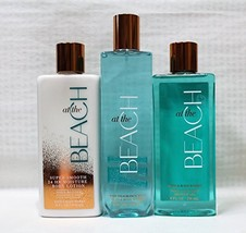 Bath & Body Works ~ Signature Collection ~ At The Beach ~ Shower Gel ~ Fine Frag
