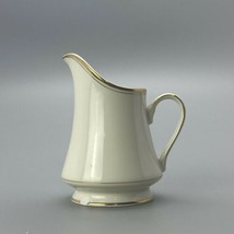 mikasa trousdale creamer only ivory china l2801 chipped  - $7.91