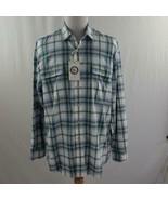 Nautica Heritage Spinnaker L/S Mens Plaid Shirt Sz XL NWT - $28.93