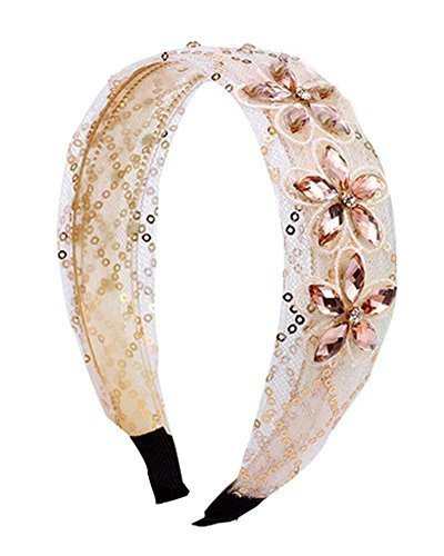 Beautiful Rhinestones Lace Hair Ornaments Hair Hoop Headband Hair Band