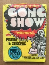 1977 Fleer The Gong Show Winners Unopened Vintage Wax Pack 7 Cards + 1 Sticker - $2.99