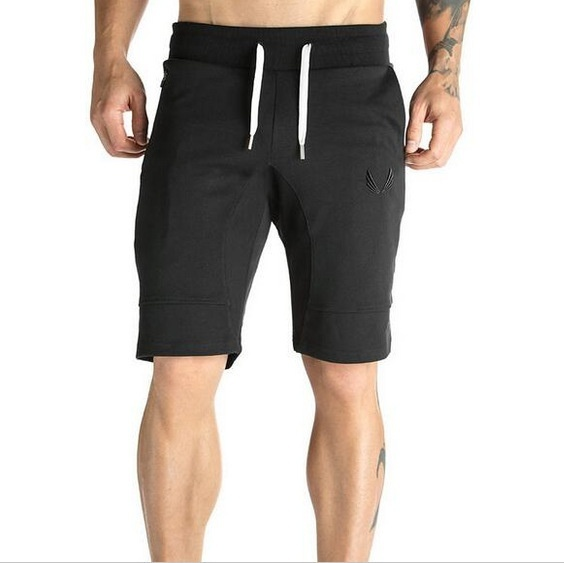 Fashion Muscle Brother Fitness Bodybuilding Shorts Men Sports Casual Camouflage