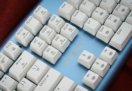 Micronics K735 Mechanical Gaming Keyboard Red Body (Kailh Box Switch White) image 8