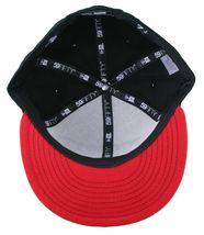 Dissizit New Era Fitted 59Fifty white/red/black Collegiate CALI Bear Hat Cap image 7