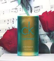 CK One Summer By Calvin Klein EDT Spray 3.4 FL. OZ. 2014 - $89.99