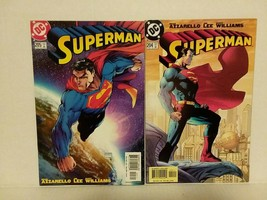 SUPERMAN - #204, 205 - JIM LEE COVER AND MICHAEL TURNER COVER - FREE SHI... - $14.03